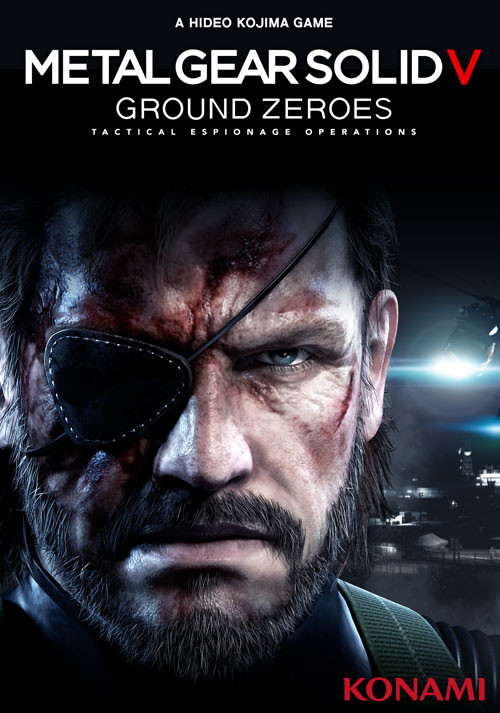Metal Gear Solid V: Ground Zeroes - Cover / Packshot