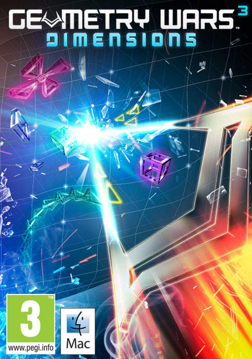 Geometry Wars 3: Dimensions (Mac) - Packshot