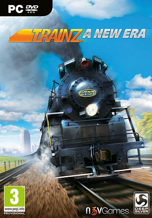Trainz: A New Era - Cover