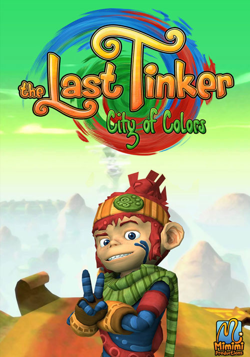 The Last Tinker: City of Colors - Cover
