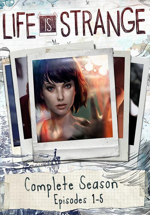 Life Is Strange Complete Season (Episodes 1-5) - Cover / Packshot