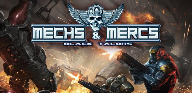 Mechs and Mercs: Black Talons - Cover / Packshot