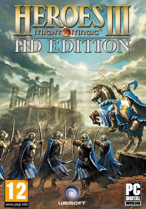 Heroes of Might & Magic III - HD Edition - Cover