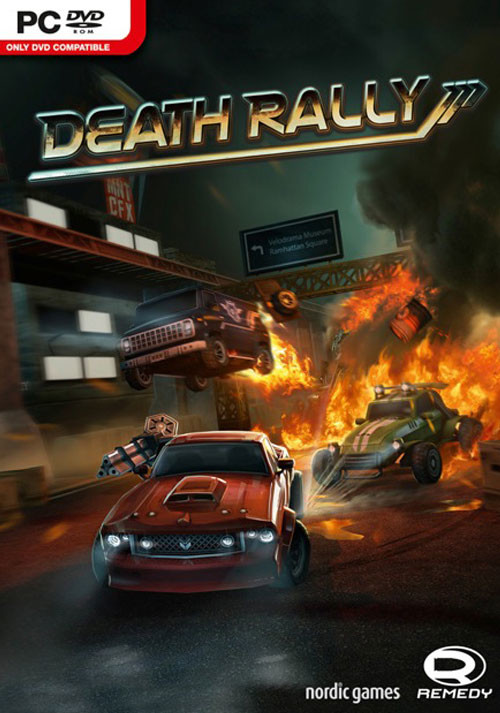 Death Rally - Cover