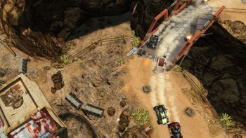 Screenshot1 - Death Rally