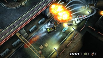 Screenshot2 - Death Rally