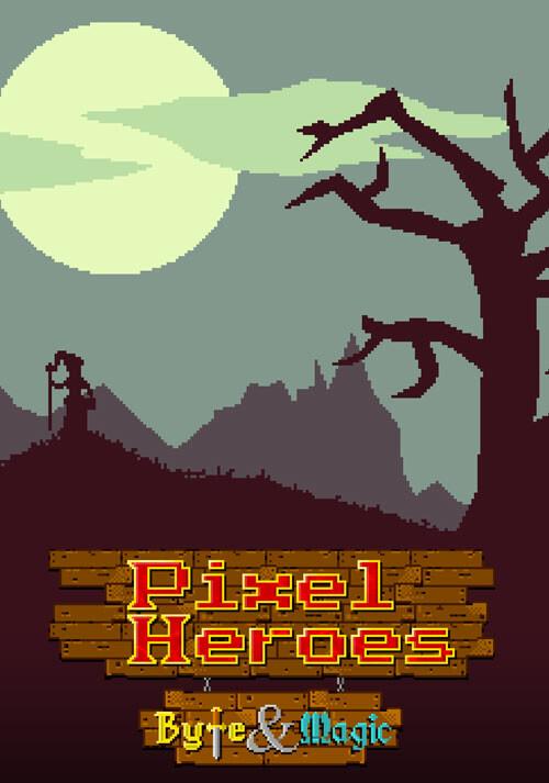 Pixel Heroes: Byte & Magic - Cover / Packshot