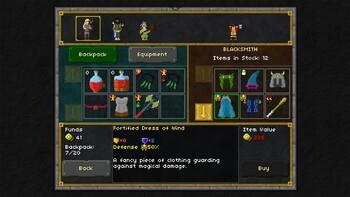 Screenshot1 - Pixel Heroes: Byte & Magic
