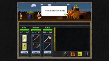 Screenshot2 - Pixel Heroes: Byte & Magic