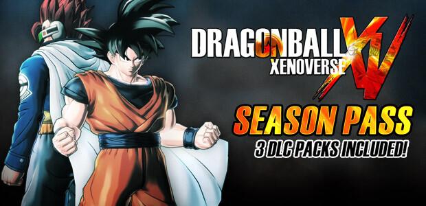 DRAGON BALL Xenoverse - Season Pass - Cover / Packshot
