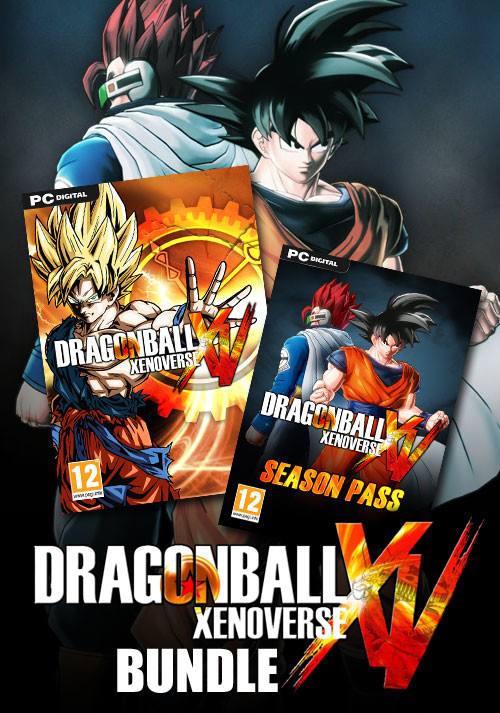 DRAGON BALL Xenoverse Bundle - Packshot