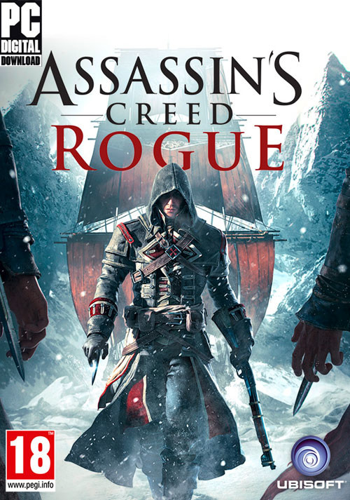 Assassin's Creed Rogue  - Cover / Packshot