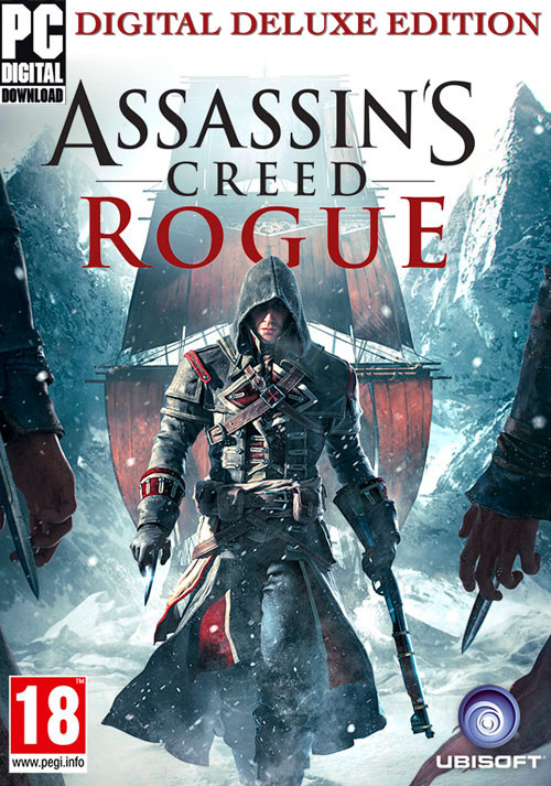 Assassin's Creed Rogue Deluxe Edition - Cover / Packshot