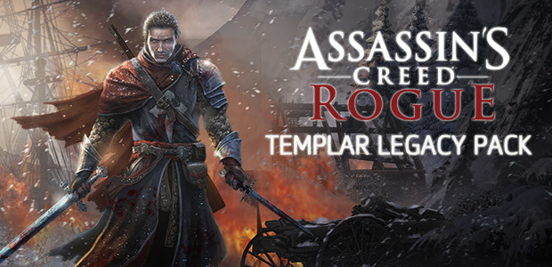 Assassin's Creed Rogue - Templar Legacy Pack - Cover / Packshot