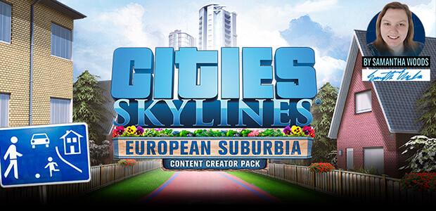 Cities: Skylines - European Suburbia Content Creator Pack - Cover / Packshot