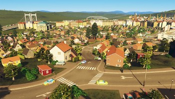 Screenshot1 - Cities: Skylines - European Suburbia Content Creator Pack