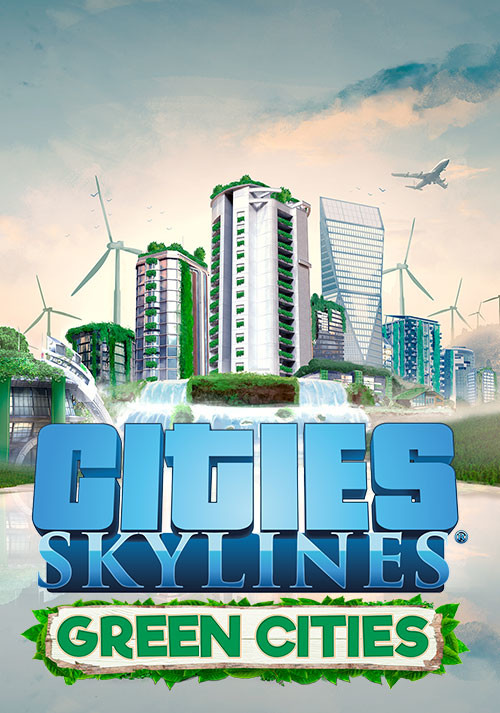 Cities: Skylines - Green Cities - Cover / Packshot