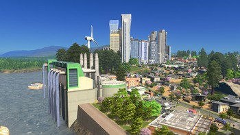 Screenshot1 - Cities: Skylines - Green Cities