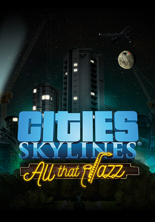 Cities: Skylines - All That Jazz - Cover / Packshot