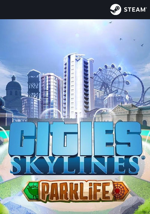 Cities: Skylines - Parklife - Cover / Packshot