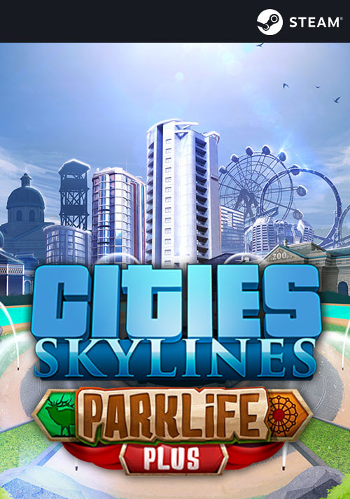 Cities: Skylines - Parklife Plus - Cover
