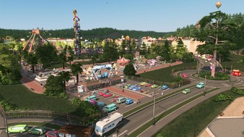 Screenshot1 - Cities: Skylines - Parklife Plus