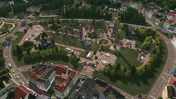 Screenshot8 - Cities: Skylines - Parklife Plus