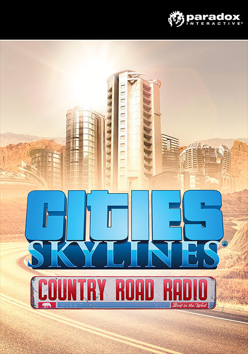 Cities: Skylines - Country Road Radio - Cover / Packshot