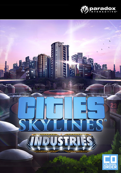 Cities: Skylines - Industries - Cover / Packshot