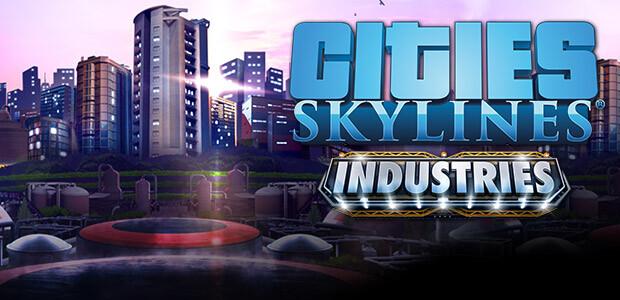 Cities: Skylines - Industries - Cover / Packshot