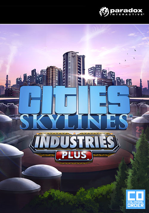 Cities: Skylines - Industries Plus - Cover