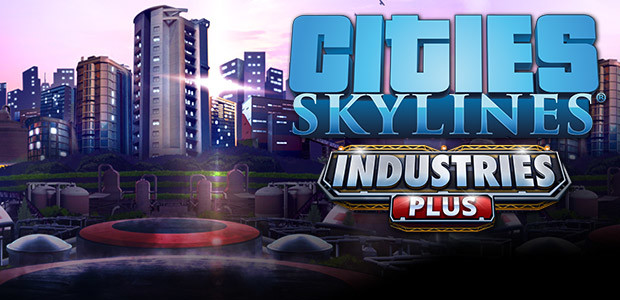 Cities: Skylines - Industries Plus - Cover / Packshot