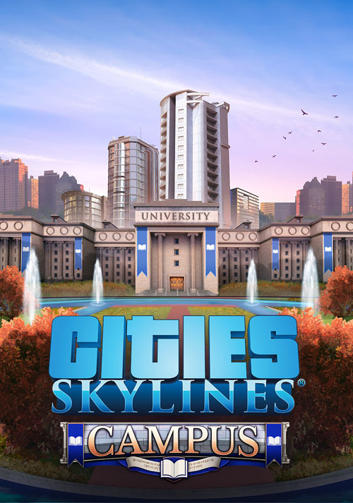 Cities: Skylines - Campus - Cover / Packshot