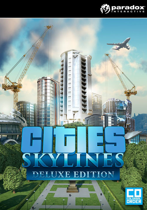 Cities: Skylines Deluxe Edition - Cover