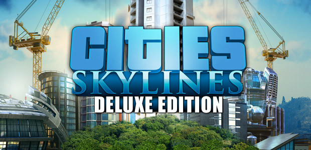 Cities: Skylines Deluxe Edition - Cover / Packshot