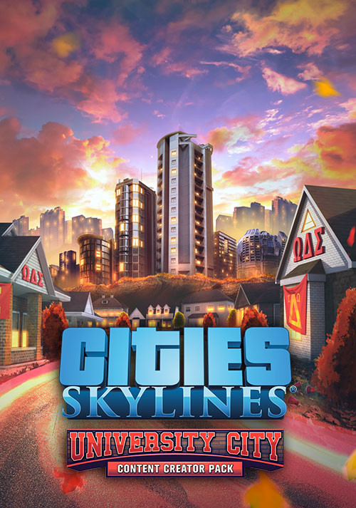 Cities: Skylines - Content Creator Pack: University City - Cover / Packshot