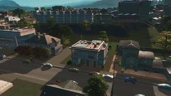 Screenshot7 - Cities: Skylines - Content Creator Pack: University City