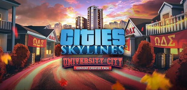 Cities: Skylines - Content Creator Pack: University City - Cover / Packshot