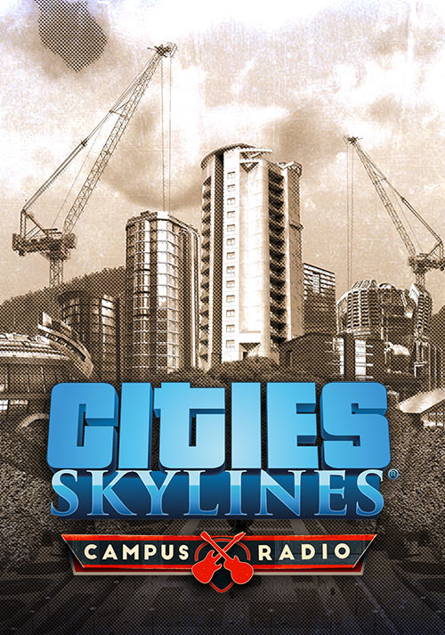 Cities: Skylines - Campus Radio - Cover
