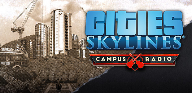 Cities: Skylines - Campus Radio - Cover / Packshot