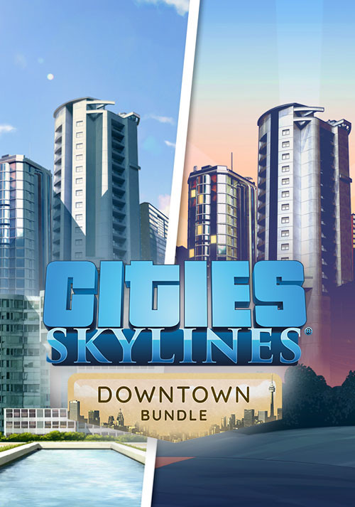Cities: Skylines - Downtown Bundle - Cover / Packshot