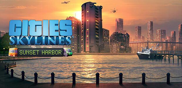 Cities: Skylines - Sunset Harbor - Cover / Packshot