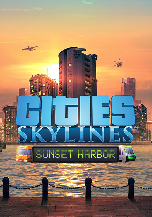 Cities: Skylines - Sunset Harbor - Cover / Packshot