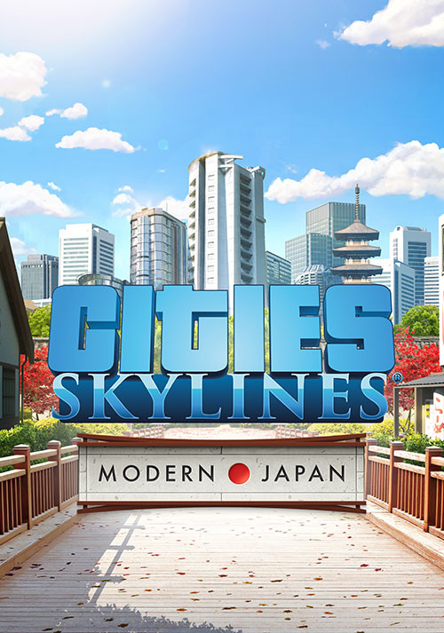 Cities: Skylines - Content Creator Pack: Modern Japan - Cover / Packshot