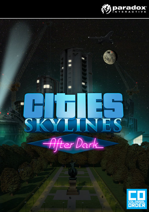 Cities: Skylines - After Dark - Cover