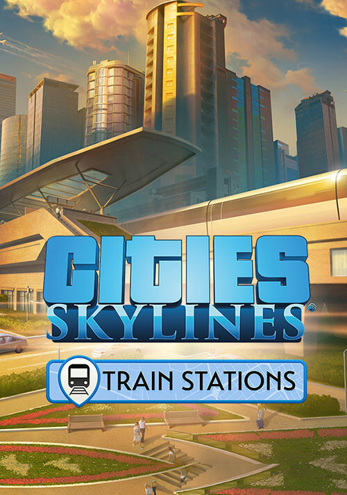 Cities: Skylines - Content Creator Pack: Train Stations - Cover / Packshot