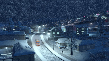 Screenshot2 - Cities: Skylines - Snowfall