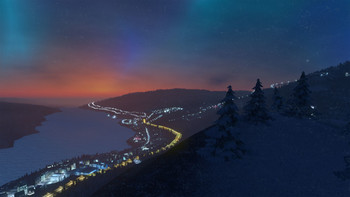 Screenshot1 - Cities: Skylines - Snowfall