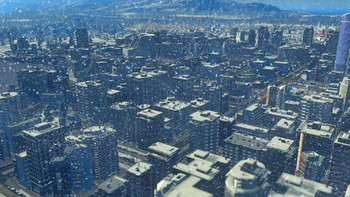 Screenshot9 - Cities: Skylines - Snowfall