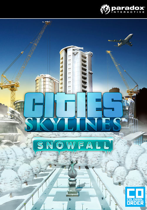 Cities: Skylines - Snowfall - Cover